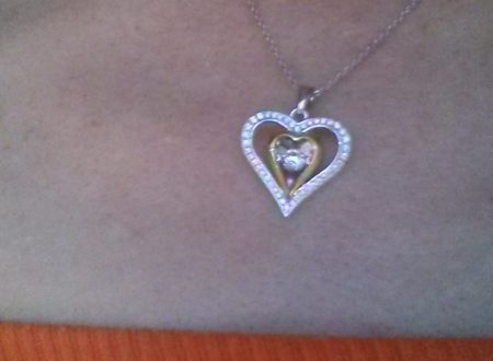 Collana Donna in Argento 925: Cuore d'Amore